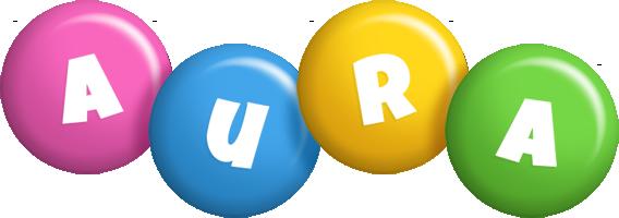 Aura candy logo