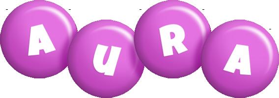 Aura candy-purple logo