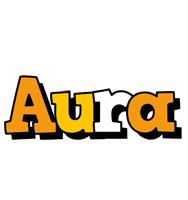 Aura cartoon logo