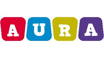 Aura daycare logo