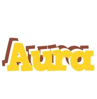 Aura hotcup logo