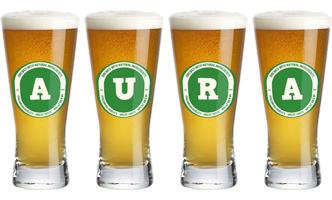 Aura lager logo