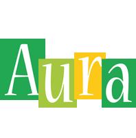 Aura lemonade logo
