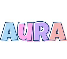 Aura pastel logo