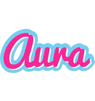Aura popstar logo