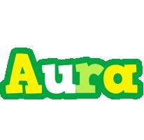 Aura soccer logo