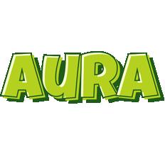 Aura summer logo