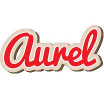 Aurel chocolate logo
