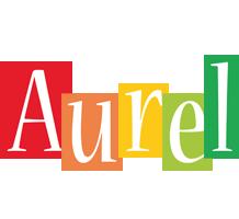 Aurel colors logo
