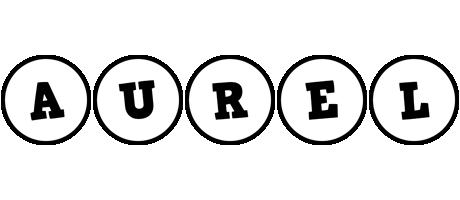 Aurel handy logo