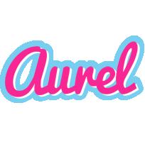 Aurel popstar logo