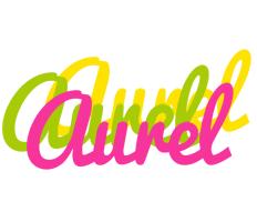Aurel sweets logo