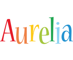 Aurelia birthday logo
