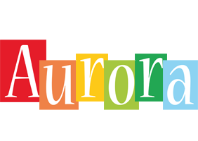 Aurora colors logo