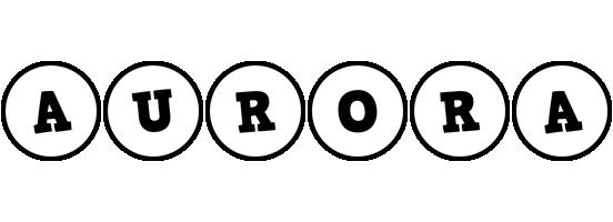 Aurora handy logo