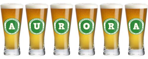 Aurora lager logo