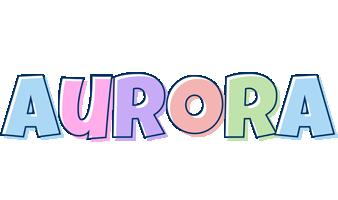 Aurora pastel logo