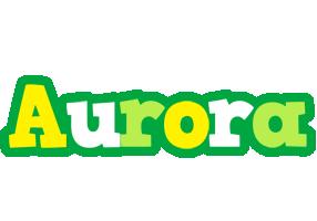 Aurora soccer logo