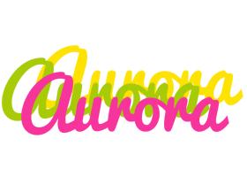 Aurora sweets logo