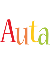 Auta birthday logo