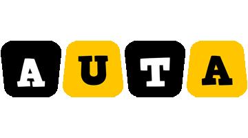 Auta boots logo