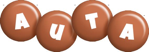 Auta candy-brown logo