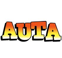 Auta sunset logo
