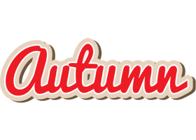Autumn chocolate logo