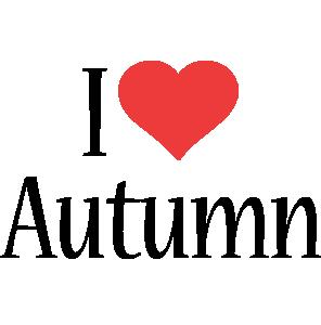 Autumn i-love logo