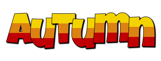 Autumn jungle logo