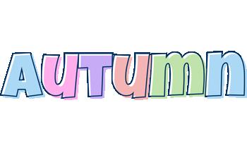 Autumn pastel logo