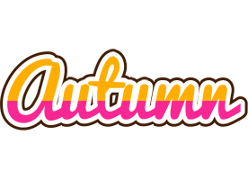 Autumn smoothie logo