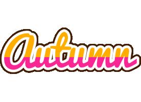 Autumn smoothie logo