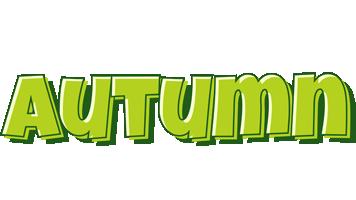Autumn summer logo