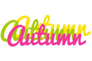 Autumn sweets logo