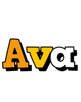 Ava cartoon logo