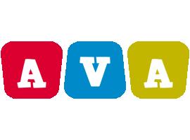 Ava daycare logo