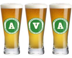 Ava lager logo
