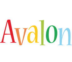 Avalon birthday logo