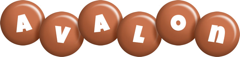 Avalon candy-brown logo