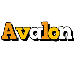 Avalon cartoon logo