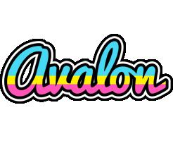 Avalon circus logo