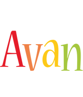 Avan birthday logo
