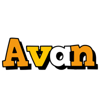 Avan cartoon logo
