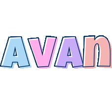 Avan pastel logo