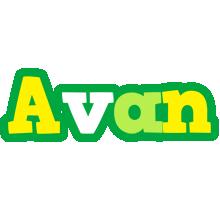 Avan soccer logo