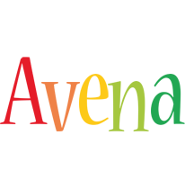 Avena birthday logo