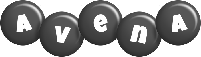 Avena candy-black logo