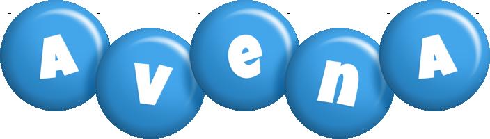 Avena candy-blue logo