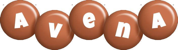 Avena candy-brown logo
